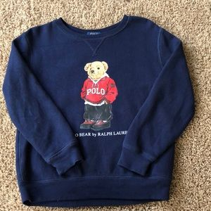 Boys polo sweatshirt sz 7